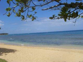 charmante villa caraïbes proximité  superbe plage, piscine ,jardin tropical clos