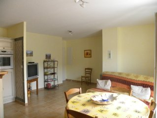 Appartement T2 4 personnes,acces handicapes;