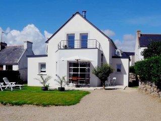 Maison de vacances - Baie d'Audierne à 150 m de la mer et des sentiers côtiers