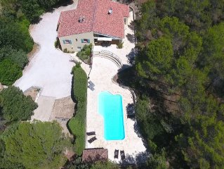 Villa 5 pieces avec piscine proche Aix en Provence