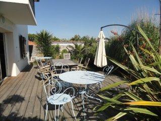 Appart. 4-6 pers. Grande terrasse plein sud, Biarritz/Anglet
