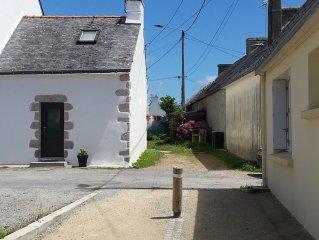 Maison de pecheur, sur le port de Kerroch, proche plage, 4 couchages
