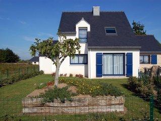Très belle villa pour 9 Pers, à 900 mètres de la plage, Morbihan