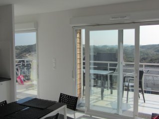 New apartment, tourist class furniture + private
