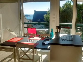 Apartment sea view, 1 bedroom, 2/4 persons