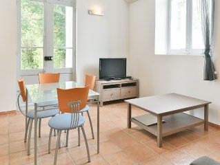 STUDIO with Terrace in private park with swimming pool 4 km from the beaches ca
