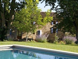 Mas **** à Bonnieux - Luberon - piscine privée chauffée - maison indépendante