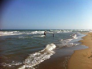 Maison de vacances au calme, entre la plage et le parc naturel,