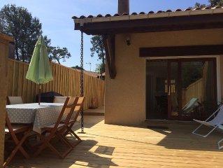 Location Cap Ferret charmante petite maison