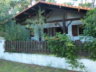 Appart non fumeur en rez-de-jardin dans villa bordure foret  - animaux acceptes