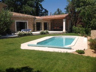 Luberon, Goult: Superb village house with views, heated pool and garden