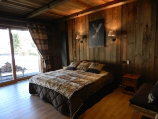 4-star comfortable chalet for 18 people; 7 bedrooms, 7 bathrooms with WC