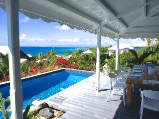 Villa BAGATAYE - vue mer d'exception à 180° sur les îles, à 100 m de la mer