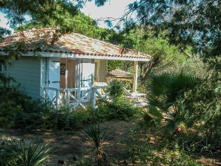 House *** 4/6 pers. St Tropez in quiet park