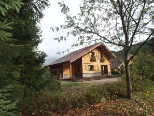 CHALET MAPLE **** With a Finnish sauna in a quiet location