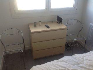 Joli petit appartement renove au centre du Boucanet (4 personnes)