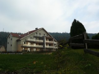 New apartment *** Franche-Comte. Lake Saint Point. MALBUISSON