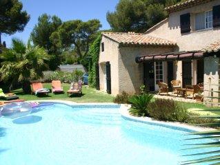 Belle Villa  160m2 St Raphael (var) 4 chambres 10 personnes