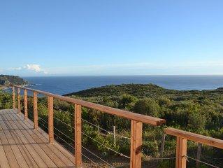 Villa Capo di Muro, vue sur la mer, plages et balades
