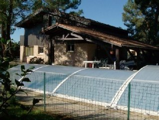 Charming villa with indoor swimming pool in Arcachon Bay