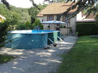 Cottage with pool 2-5 pers 35 km Sarlat