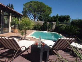 maison en provence entre Saint Remy et Avignon avec piscine pour  6 personnes
