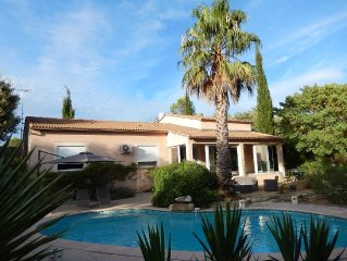 Between sea, Camargue and Cevennes, Villa with pool, nature and quiet