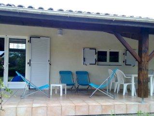 Maison 4 pers. LESPARRE-MEDOC, charme, plages, vignobles, estuaire -- WI-FI