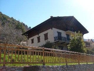 3 apartments in a Mountain Chalet, Mercantour