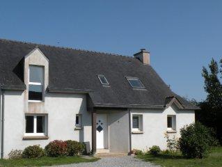 Villa Plouhinec Morbihan proche Mer
