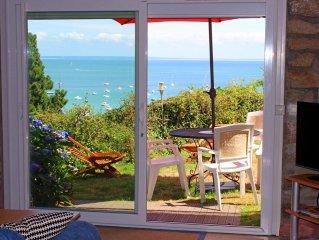 Appartement a 100m de la plage. CANCALE, PORT-MER