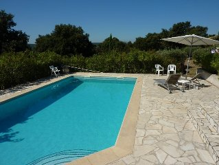 Studio charm and comfort 60 m2 property in Provence, Pool, Pont du Gard