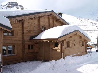 Luxury ski-in/ski-out Chalet with jacuzzi and sauna Tignes 2100m - Val d'Isere
