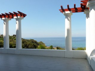 Villa sur la mer, à la limite de Guéthary, accueillant de 12 à 16 personnes