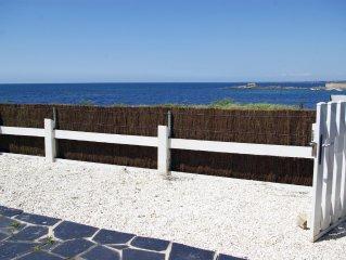 Ploemeur, Maison pleine vue mer. Plage sable fin à 100m
