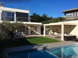 Anglet Chiberta contemporary house 50 meters from the beach