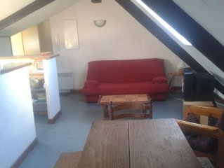 Studio near the marina of Vannes, for 4 people