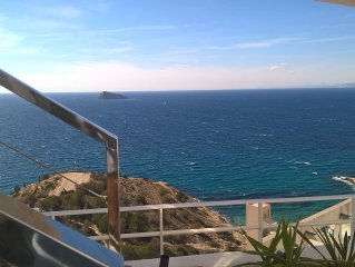 !!! Stunning views of the Sea !!!  , Protected natural area and 2 bedrooms / 4p