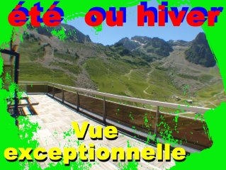La Mongie APPARTEMENT GRAND BALCON VUE EXCEPTIONNELLE FACE AU TOURMALET