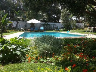 Villa with Private Beach Dar Bouzza