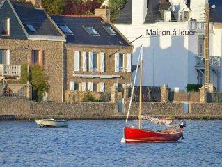 Maison avec vue directement au bord du Golfe du Morbihan