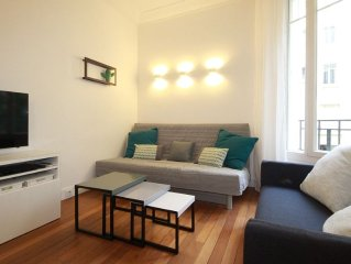 Trocadero - Eiffel Tower completely renovated design Apartment