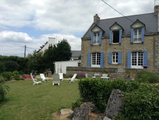 Location maison - 5 chambres, 10 pers,Carnac, Carnac-Plage Morbihan