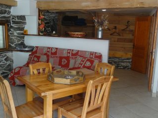 Grand Studio 35 M2 2/4 Places 100 m from the gondola Maurienne via Val Thorens