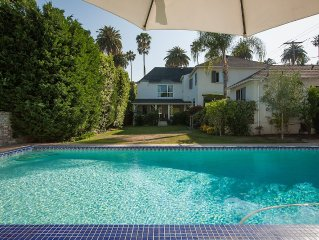 Luxurious Home in Flat Beverly Hills Large Pool & Sunny Garden