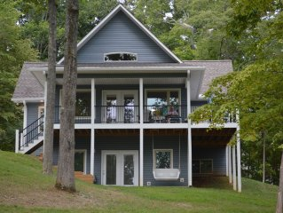 Beautiful New Norris Lake-view House in a Golf Course Community
