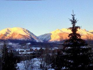 Ski season! Close to many slopes, walk to great dining.