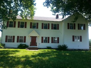 Completely Restored Family and Pet Friendly Home on 300 acres near the Wye River