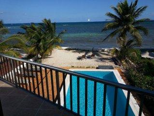 Casa Conde Ocean Front Puerto Morelos 15 Mile To Airport Very Private