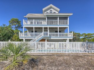 3BR/3.5BA Gulf View Beach House, with Private Pool